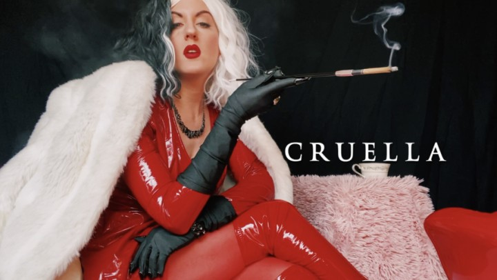 [HD] Dommetomorrow Cruella DommeTomorrow - ManyVids-00:15:39 | Role Play,Smoking,Boot Domination,Furs,Humiliation - 147,6 MB