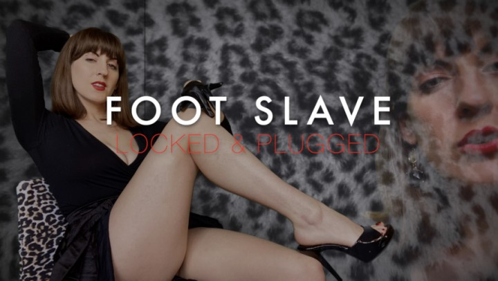 [Full HD] Dommetomorrow Foot Slave Locked And Plugged DommeTomorrow - ManyVids-00:05:25 | Chastity Devices,Key Holding &Amp;Amp; Chastity,Foot Slave Training,Foot Domination,Foot Worship,SFW - 95,5 MB