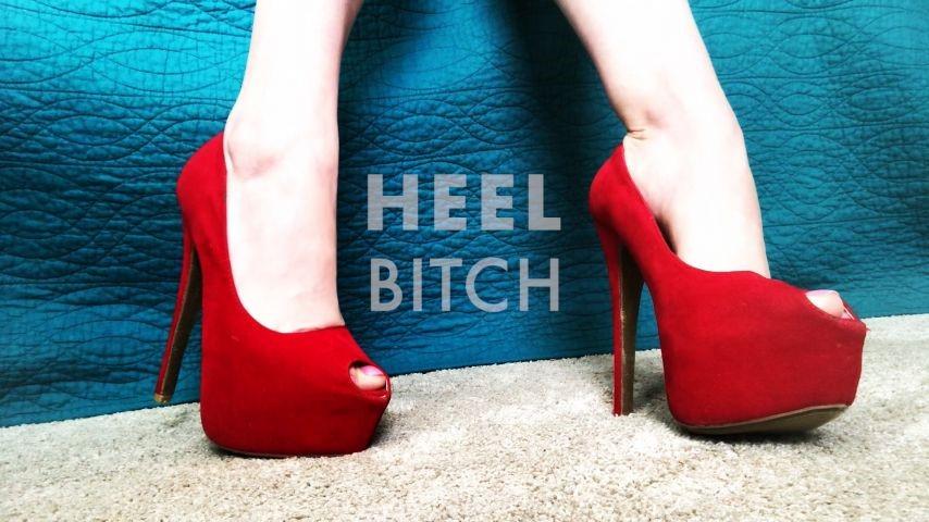 [Full HD] Dommetomorrow Heel Bitch DommeTomorrow - ManyVids-00:10:13 | High Heels,Foot Domination,Dirty Feet,Foot Slave Training,Foot Fetish - 1,4 GB