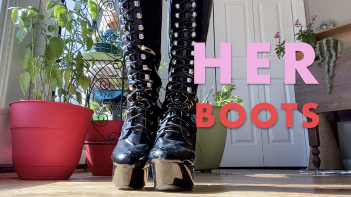 [Full HD] Dommetomorrow Her Boots DommeTomorrow - ManyVids-00:07:56 | Boot Domination,Boot Fetish,Boots,Boot Licking,Foot Domination - 1,1 GB
