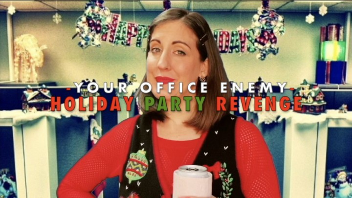 [HD] Dommetomorrow Holiday Party Revenge DommeTomorrow - ManyVids-00:10:18 | Role Play,Office Domination,Holiday,Jeans/Pants Wetting,Femdom POV,SFW - 218,8 MB