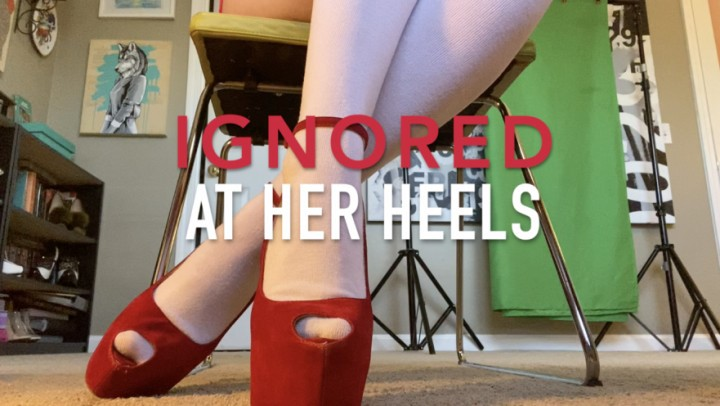 [Full HD] Dommetomorrow Ignored At Her Heels DommeTomorrow - ManyVids-00:05:10 | Ignore,High Heels,Goddess Worship,Foot Domination,Foot Slave Training - 743,4 MB