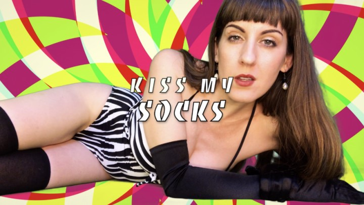 [Full HD] Dommetomorrow Kiss My Socks DommeTomorrow - ManyVids-00:10:40 | Socks,Foot Domination,Legs,Ass Worship,JOI - 1,5 GB