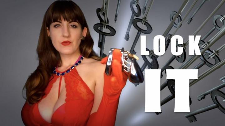 [Full HD] Dommetomorrow Lock It DommeTomorrow - ManyVids-00:07:27 | Chastity Devices,Key Holding &Amp;Amp; Chastity,Orgasm Denial,Female Domination,Cuckolding - 1 GB