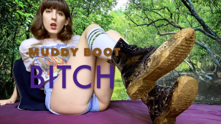 [Full HD] Dommetomorrow Muddy Boot Bitch DommeTomorrow - ManyVids-00:06:31 | Boot Domination,Boot Fetish,Shoe &Amp;Amp; Boot Worship,Boots,Boot Licking,SFW - 949,3 MB
