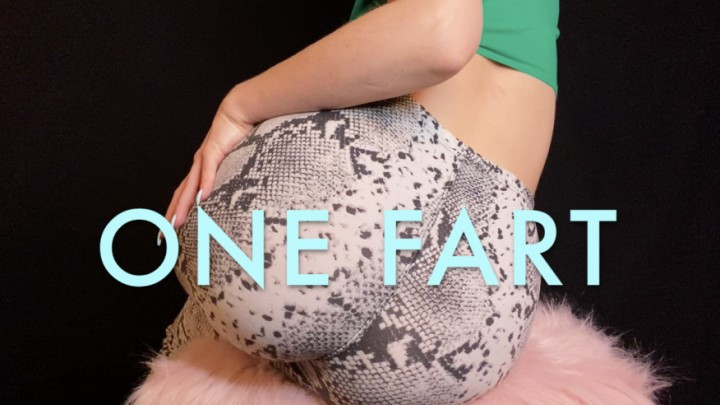 [Full HD] Dommetomorrow One Fart DommeTomorrow - ManyVids-00:05:17 | Ass Fetish,Ass Worship,Farting,Humiliation,Tease &Amp;Amp; Denial,SFW - 216 MB