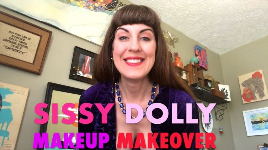 [HD] Dommetomorrow Sissy Dolly Makeup Makeover DommeTomorrow - ManyVids-00:10:58 | Feminization,Makeup,Sissification,Doll Fetish,MILF - 951,2 MB