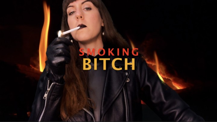 [Full HD] Dommetomorrow Smoking Bitch DommeTomorrow - ManyVids-00:07:27 | Smoking,Leather Fetish,Humiliation,Verbal Humiliation,Spit Fetish - 1 GB