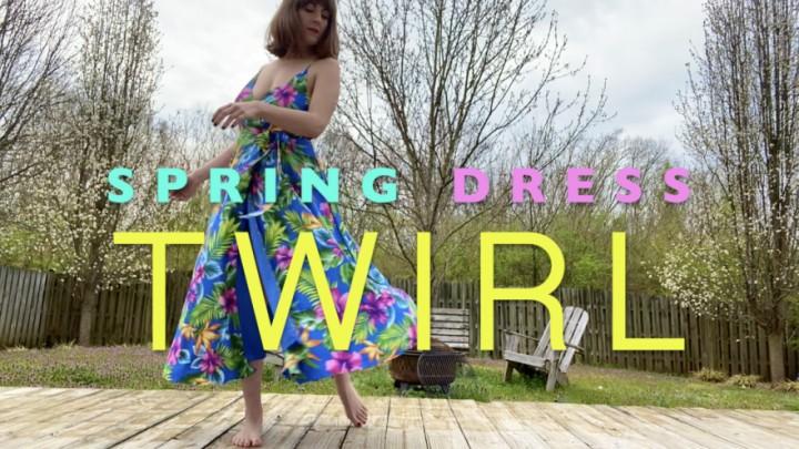 [Full HD] Dommetomorrow Spring Dress Twirl DommeTomorrow - ManyVids-00:05:12 | Upskirt,Legs,Goddess Worship,Tease &Amp;Amp; Denial,MILF,SFW - 743,2 MB