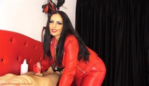 [HD] Ezada. Red Leather Gloves Edging &Amp; Ruining Ezada - SiteRip-00:14:09 | Female Domination, Leather Fetish, Chastity, Tease, Ruined Orgasms, FemDom - 208 MB