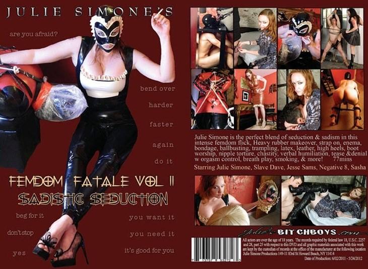 [SD] Femdom Fatale 2 Sadistic Seduction Julie Simone, Slave Dave, Negative 8, Jesse Sams, Sasha - Julie Simone Productions-01:17:13 | Fetish, Submales, Rubber, BDSM, Femdom, Redhead - 1,1 GB
