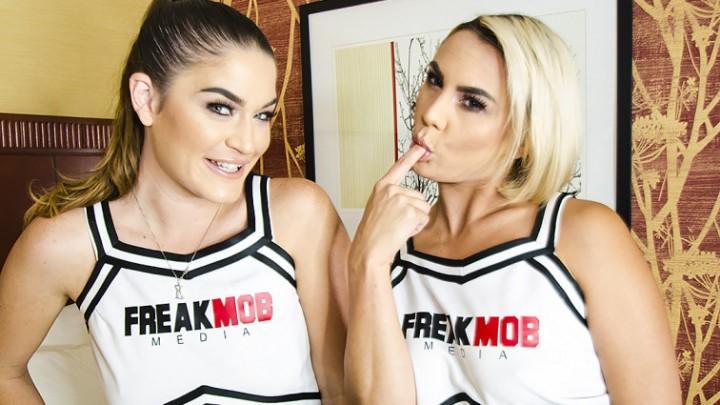 [HD] Freak Mob Media Bts Two Cheerleaders Fuck Bbc Freak Mob Media - ManyVids-00:57:12   Behind The Scene,Cheerleaders,Interracial,PAWG - 4,9 GB