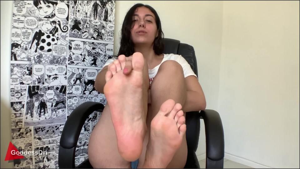 [Full HD] GoddessDri Virgin Foot Boy GoddessDri - Manyvids-00:05:48 | Size - 214,2 MB