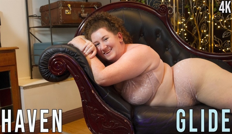 [Full HD] Haven - Glide Haven - SiteRip-00:13:50 | Fair Skin, Redhead, Solo Girl, Object Insertion, Curvy, Big Boobs - 798,3 MB