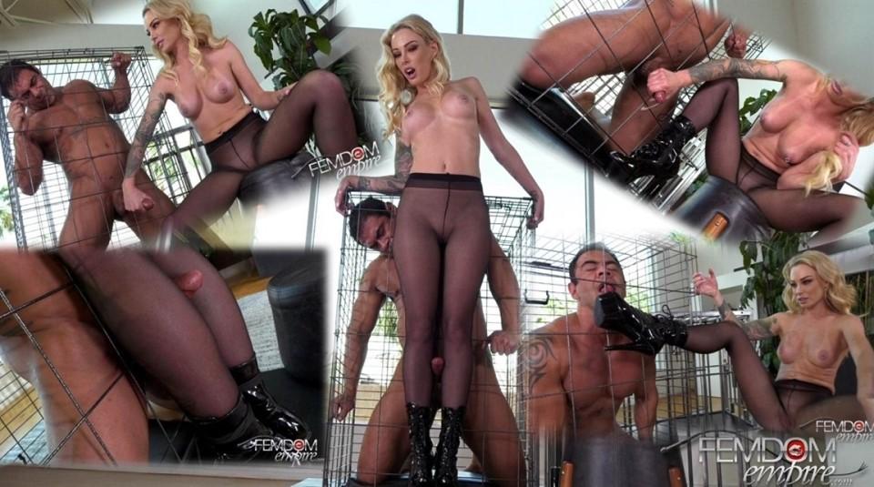 [Full HD] Isabelle Deltore - Captive Male Milking Isabelle Deltore - FemdomEmpire.Com-00:14:05 | Pantyhose, Femdom, Cum Eating, Boot Licking, Milking, Handjob - 1021 MB