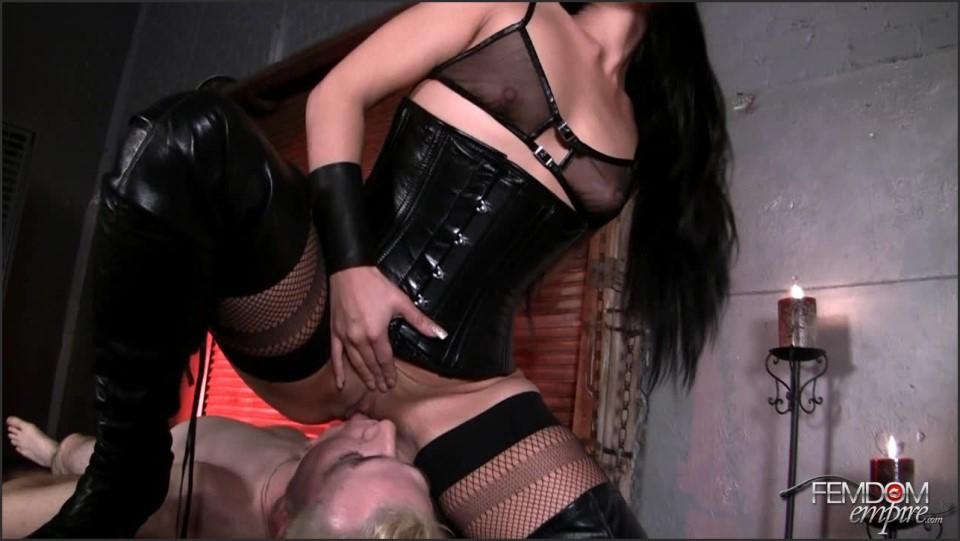 [HD] Jade Indica - Chastity Pussy Worship Jade Indica - SiteRip-00:06:40 | Facesitting, Anilingus, Stocking, Femdom, Cunilingus - 176,5 MB