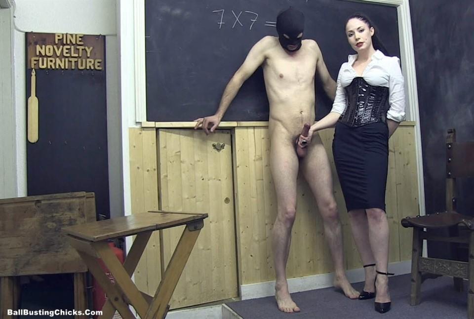 [Full HD] Jerked Off In The Classroom Mistress Sophia Black - BallbustingChicks.Com-00:09:00 | Handjobs, Masturbation, Ballbusting, FemDom - 327,6 MB