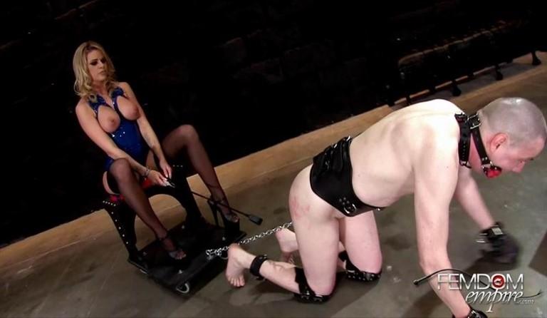 [Full HD] Jessa Rhodes - Chastised Chariot Gimp Jessa Rhodes - FemdomEmpire.Com-00:10:54   Ballbusting, Whipping, Bondage, Femdom, CBT - 687,7 MB