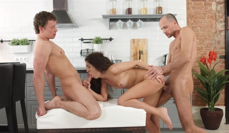 [HD] Katty West - Shame Never Heard Of It. Tap0469 Katty West - SiteRip-00:19:43 | Slim, Brunette, Small Tits, Deep Throat, Threesome, Piercing - 281,4 MB