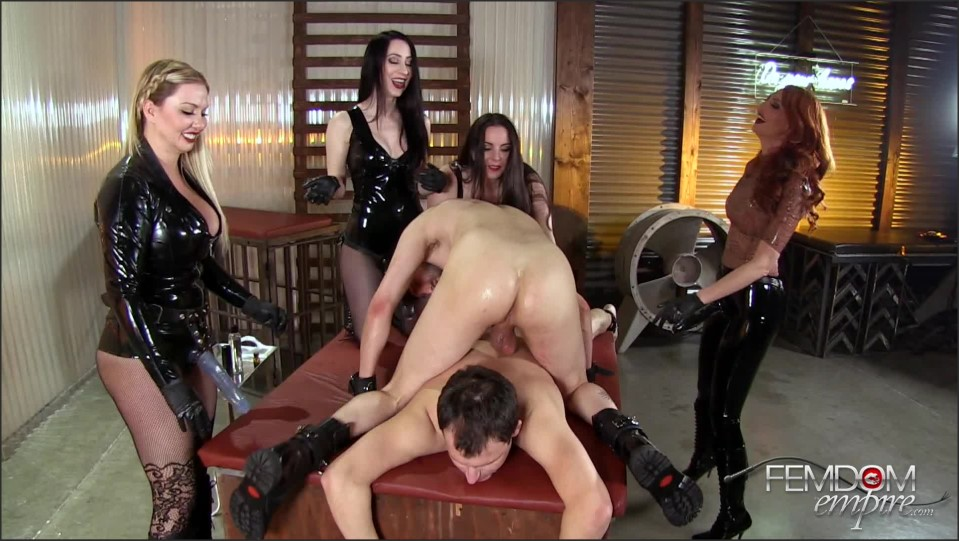 [Full HD] Lexi Sindel, Alexandra Snow, Kendra James &Amp; Mina Thorne. Strap-On Gang Bang '16 Lexi Sindel, Alexandra Snow, Kendra James, Mina Thorne - FemdomEmpire-00:21:04 | High Heels, Strapon, Pornstar, Blonde, Brunette, Femdom, Latex - 1,3 GB