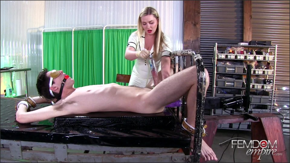 [Full HD] Lexi Sindel. Sperm Farming Lexi Sindel - FemdomEmpire-00:13:42 | Milking Machine, Big Tits, CBT, Blonde, Femdom, Anal Play, Nurse Play, High Heels - 1,1 GB
