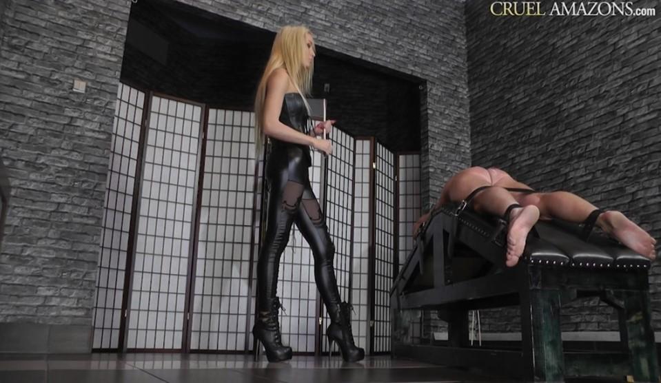 [Full HD] Mistress Ariel. Ariel's Famous Strokes Mistress Ariel - SiteRip-00:12:05   Blonde, Femdom, Corporal Punishment, Caning, High Heels, Humiliation - 662,8 MB