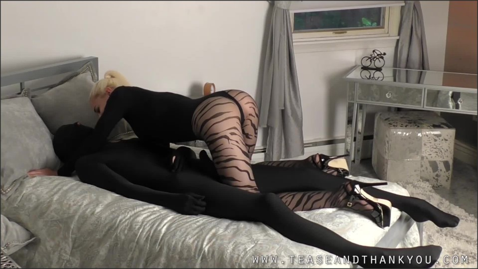 [Full HD] Mistress Helix. Dolly Is A Mess Mistress Helix - TeaseAndThankYou-00:12:53 | Tease, Pantyhose, Handjob, Femdom, Edging, Bondage - 414 MB