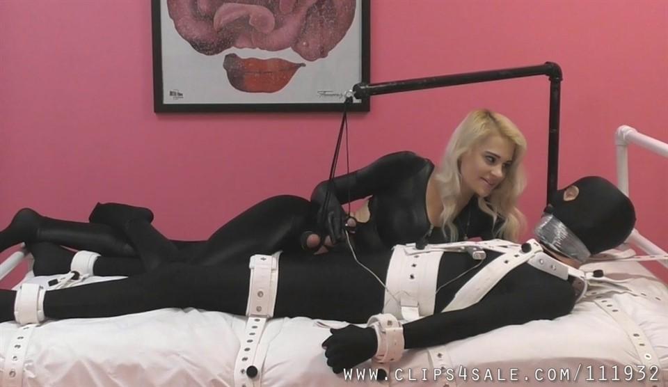 [Full HD] Mistress Helix. Tease Addicts Mistress Helix - TeaseAndThankYou-00:14:05 | Tease, Mummification, Bondage, Femdom, Pantyhose - 519,6 MB