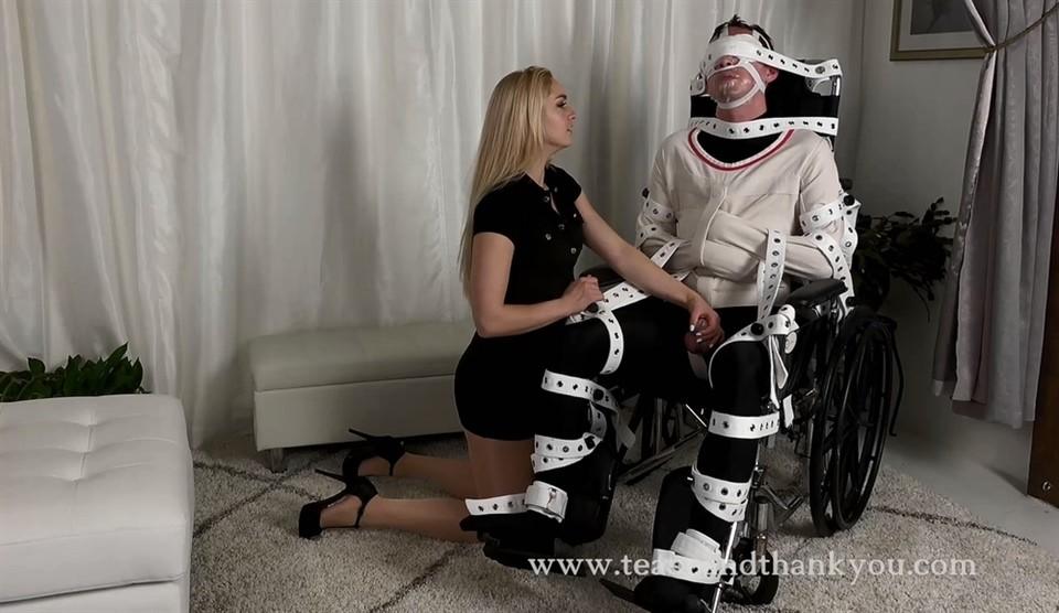 [Full HD] Mistress Mandy Marx. Pervert Therapy Mistress Mandy Marx - TeaseAndThankYou-00:11:34 | High Heels, Tease, Blonde, Bondage, Femdom, Chastity, Orgasm Control - 286,8 MB