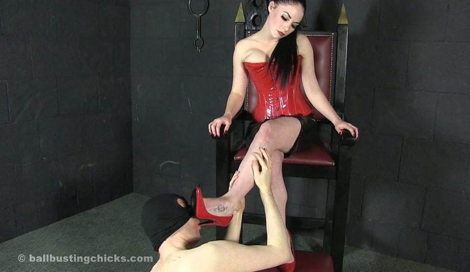 [Full HD] Mistress Sophia Black. Ruthless Mistress Sophia Mistress Sophia Black - SiteRip-00:09:13 | Femdom, Domination, High Heels, CBT, BallBusting, Humiliation, Brat Girls, Legs - 355,5 MB