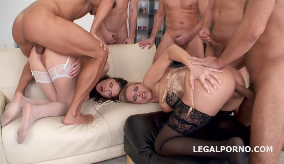 [Full HD] Nikky Dream, Francesca Dicaprio Nikky Dream, Francesca Dicaprio - SiteRip-00:58:58 | Gangbang, Anal, Gonzo, Swallow, DAP, DP - 3,4 GB