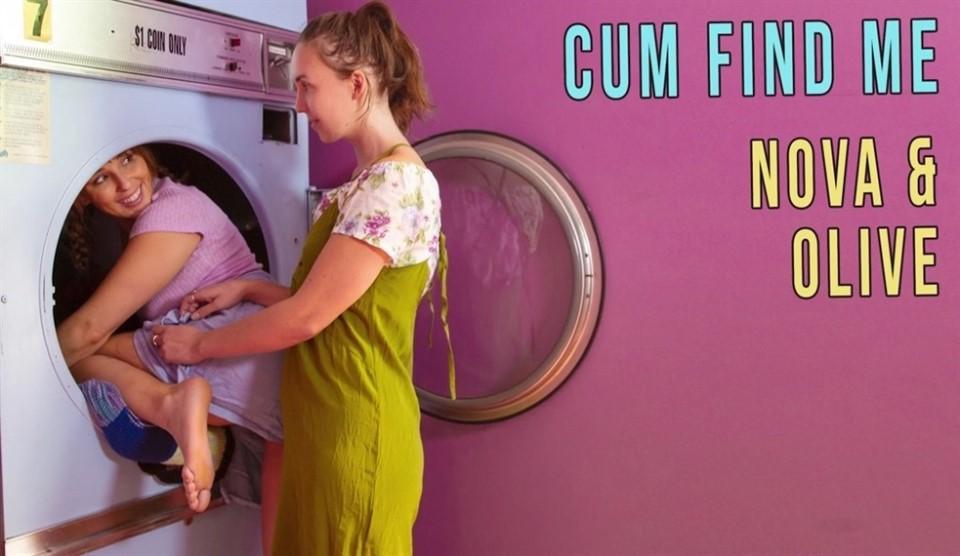 [4K Ultra HD] Nova & Olive - Cum Find Me Nova & Olive - SiteRip-00:23:41 | Up Skirt, Brunette, Squirting, Girl, Slim, Lesbian - 2,6 GB
