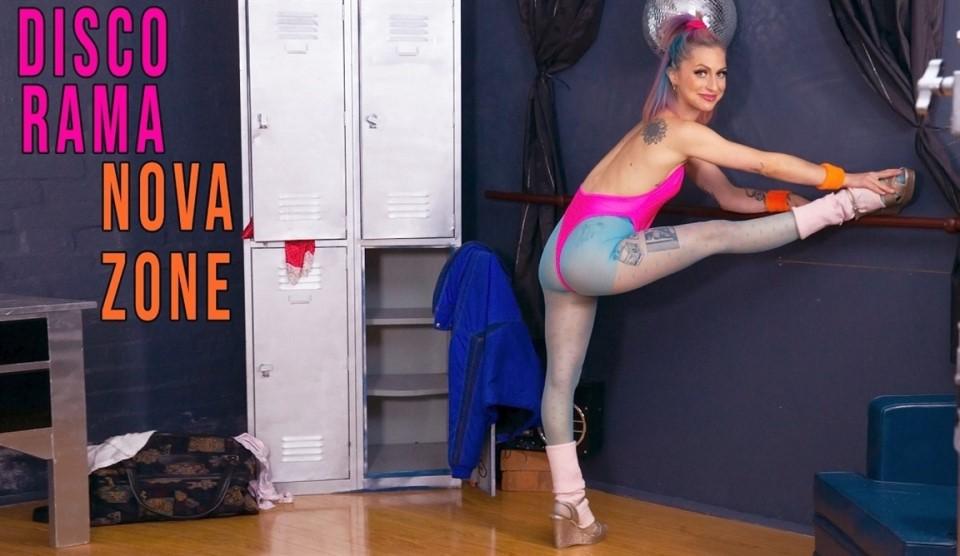 [Full HD] Nova Zone - Disco Rama Nova Zone - SiteRip-00:09:59 | Pantyhose, Solo Girl, Flexible, Athletic, Shaved, Dancing, Fingering - 576,2 MB