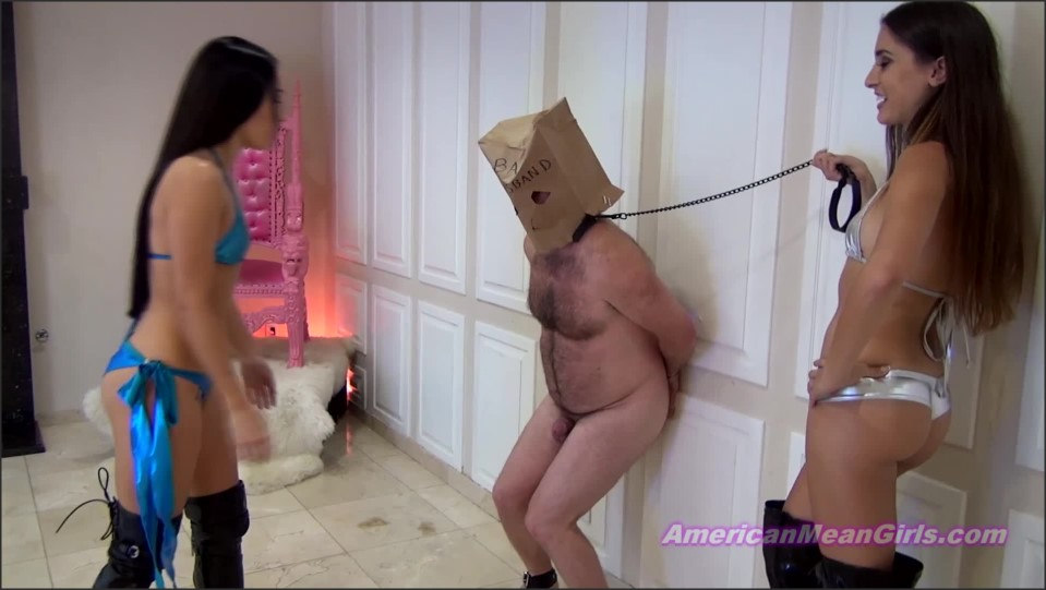 [Full HD] Princess Beverly &Amp; Princess Bella. His Wife Wanted His Nuts Destroyed By Us Princess Beverly, Princess Bella - AmericanMeanGirls-00:11:15 | Pain, Humiliation, Femdom, Ballbusting, High Heels - 1,2 GB