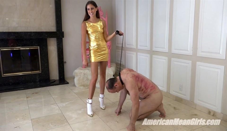 [Full HD] Princess Beverly. Kicking Princess Bella's Slave Princess Beverly - AmericanMeanGirls-00:11:13   Humination, Brunette, Ballbusting, High Heels, Femdom - 987,2 MB