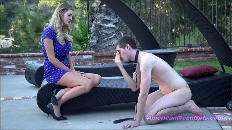 [Full HD] Princess Chanel. You're Such A Disgrace Princess Chanel - AmericanMeanGirls-00:06:31 | Humination, Spitting, Femdom, Blonde, FNM, Fetish, High Heels - 892,9 MB