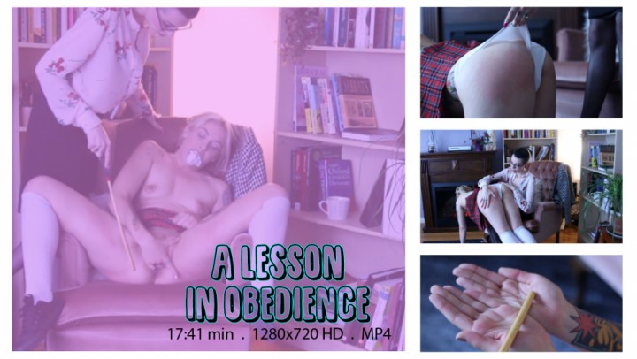 [HD] Ryland Babylove A Lesson In Obedience Ryland BabyLove - ManyVids-00:17:40 | Girl Girl,School Girl,Teacher Fetish,Lesbian Domination,Dirty Talking - 1,3 GB