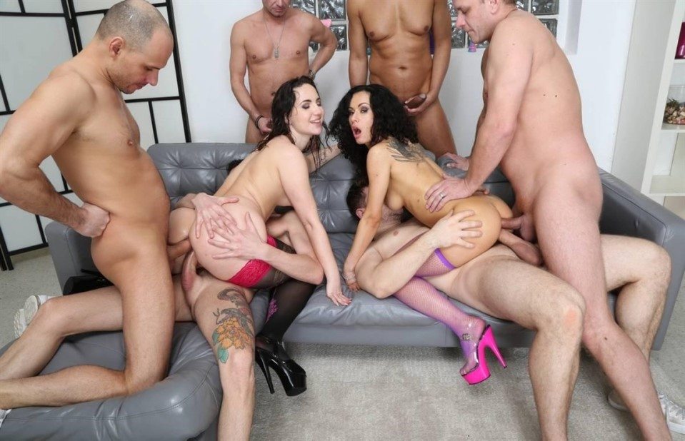 [HD] So Yummy and Wet 2 Kristy Black and Stacy Bloom 6on2 Balls Deep Anal Kristy Black & Stacy Bloom - SiteRip-01:01:53 | Anal, ATOGM, Prolapse, Gapes, Squirting, Piss Drinking, Cum Swallowing, Dou...