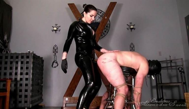 [HD] Strap-On Fuck Toy Alexandra Snow - GoddessSnow.com-00:07:19   Femdom, Latex, Bondage, Strapon - 274 MB
