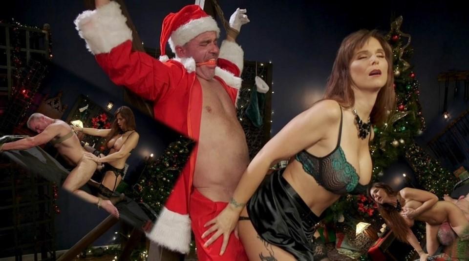 [HD] Syren de Mer - Santa Gets Got MILF Syren de Mer Catches Dale Savage in Her Dungeon Syren de Mer, Dale Savage - Kink.com-00:45:52   Pussy Licking, Vibrator, Flogging, Masturbation, Femdom, Foot...