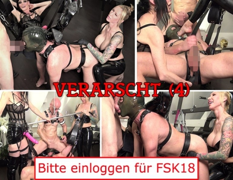 [HD] Verarscht2 Carmen Rivera, Mister P., Chris &Quot;Schock&Quot; Cock, Queen Jennifer Carter - Carmen Rivera Entertainment-00:27:39 | Sex Toy Play, Fetish, German, Humiliation, Fisting, Domination, Female Domination - 1014,1 MB