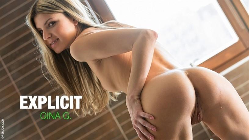 [Full HD] 2019-03-02 Gina G - Explicit Gina G. - SiteRip-00:10:39 | Masturbation, Solo - 464,6 MB
