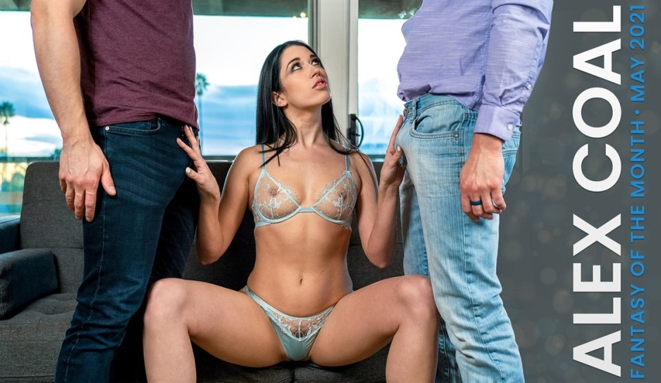 [4K Ultra HD] Alex Coal - May 2021 Fantasy Of The Month Alex Coal - SiteRip-00:32:23 | Lingerie, Threesome, Passion, All Sex, FMM, Facial, Blowjob - 3,7 GB