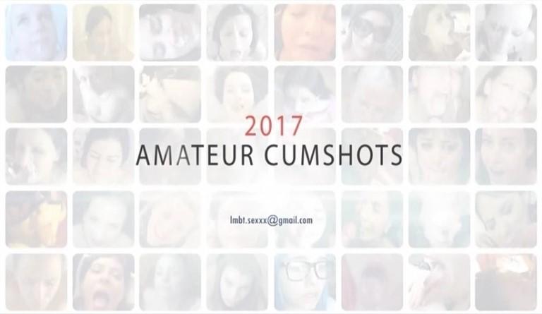 [SD] Amateur Homemade Cumshots 2017 Mix - SiteRip-01:13:56 | Compilation, Swallow, Cumshots, Blowjob - 1,5 GB