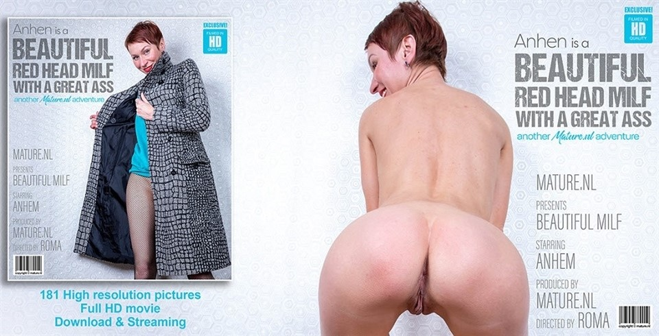 [Full HD] Anhen - Short red haired MILF Anhen with her perfect ass Anhen (36) - SiteRip-00:15:13 | Masturbation, Pantyhose, Shaved, Solo - 714,8 MB