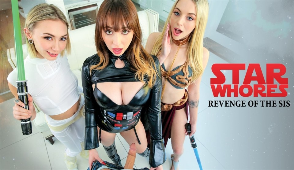 [Full HD] Chloe Temple & Lily Larimar & Quinn Wilde - Star Whores Revenge Of The Sis Chloe Temple & Lily Larimar & Quinn Wilde - SiteRip-00:28:33 | Deep Throat, Creampie, Passion, All Sex, Blowjob,...