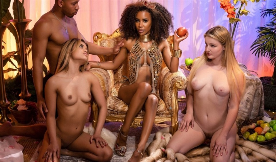 [Full HD] Demi Sutra - The Garden Of Demis Delights Demi Sutra - SiteRip-00:42:59 | Blowjob, All Sex, Ebony, Creampie - 1,3 GB