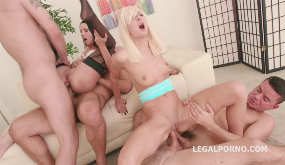 [Full HD] Double Addicted With Anal Fisting. July Sun &Amp; Lola Shine DAP Challenge. Ball Deep Anal Mix - SiteRip-00:54:05 | Gonzo, Anal - 4,6 GB