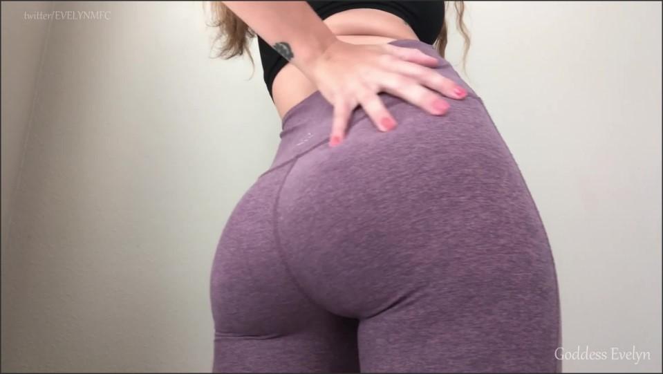 [Full HD] Goddess Evelyn - Yoga Pants Worship Goddess Evelyn Black - Manyvids-00:05:44 | Size - 140,5 MB