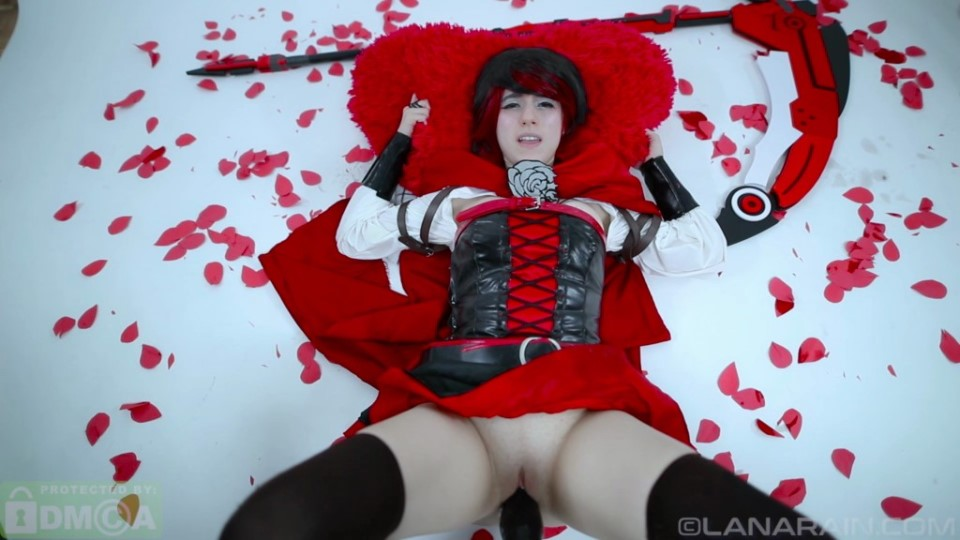 [Full HD] Lana Rain - Ruby Encounters a GRIMM Fate RWBY Mix - SiteRip-00:15:22 | Fuck Machine, Cosplay, Anime, Role Play, Solo, Toys - 2,1 GB